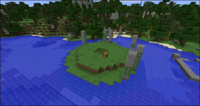 Add Dungeons, Ruins, and Treasure Hunts to Your Minecraft