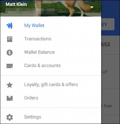 my google pay account