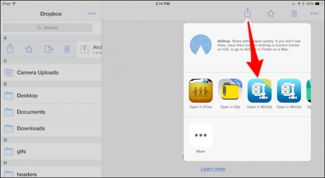 How to Open Zip Files on an iPhone or iPad