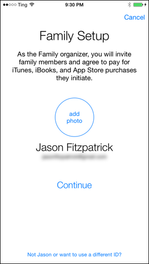 Share Apps, Music, and Videos with Apple Family Sharing on