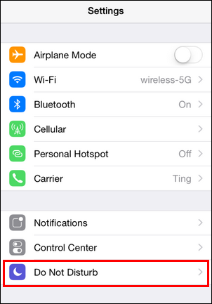 How To Configure Do Not Disturb On Your Iphone And Ipad