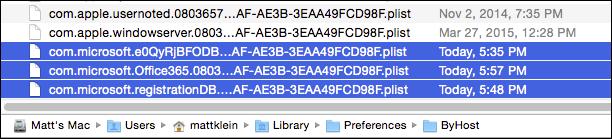 microsoft office mac remove license