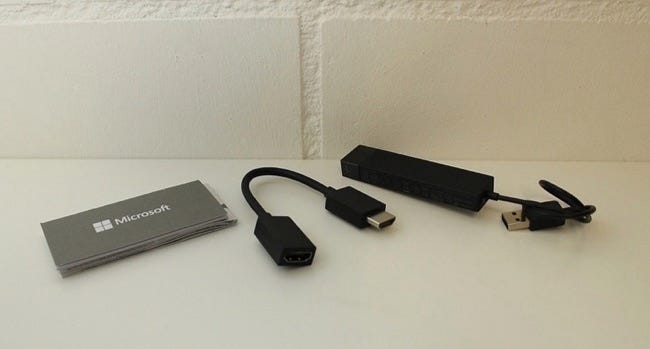 microsoft wireless display adapter for miracast