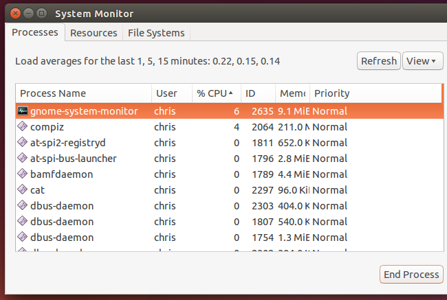 How to Kill a Desktop Application or Background Process on Linux