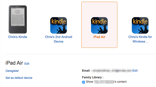 Use Kindle Family Library to Share Purchased eBooks With Family