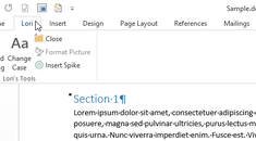How to Reset the Ribbon to its Default Settings in Office 2013