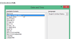 How to Set the Default Short and Long Date and Time Formats Used in Word