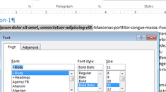 How to Quickly Format Text Using the Context Menu in Word