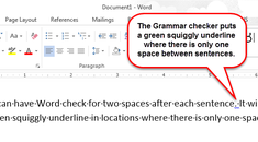 How to Add Two Spaces After a Period Automatically in Word 2013
