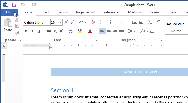 How to Display Non-Printing Characters in Word