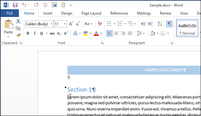 How to create a drop cap in word 2013 01selectingfirstletterofparagraph ccuart