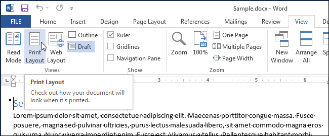 Print Multiple Pages On One Page Word 2007