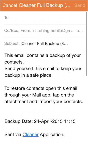 email cleaner app