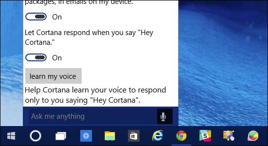 How to Turn On \u201cHey Cortana\u201d in Windows 10