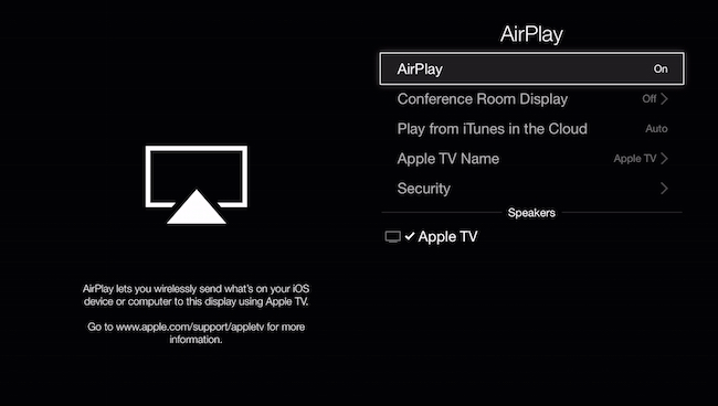 how to mirror your mac or ios screen to your apple tv. Black Bedroom Furniture Sets. Home Design Ideas