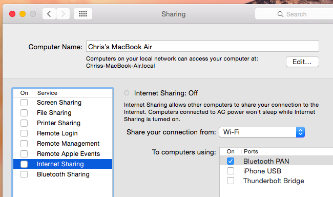 How to Reverse Tether an iPhone or iPad to Your PC or Mac
