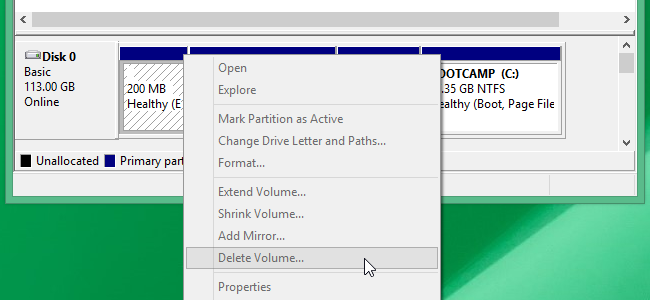 how to remove drive partitions