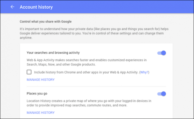 how to download delete or pause your google search history