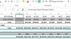 How to Hide Cells, Rows, and Columns in Excel