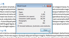 How to Count Pages, Words, Characters, Paragraphs, and Lines in a Word Document
