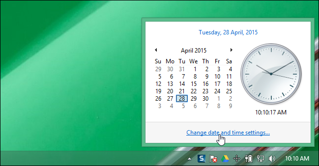 How to View Multiple Time Zones on the System Tray Clock in