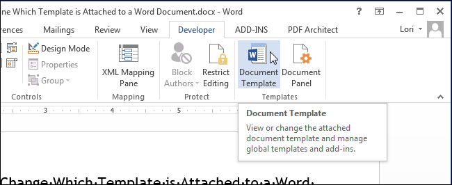 02_clicking_document_template