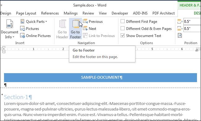 sample word document