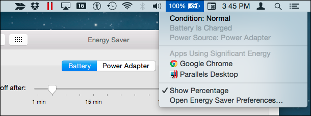 how to show battery condition on macbook pro