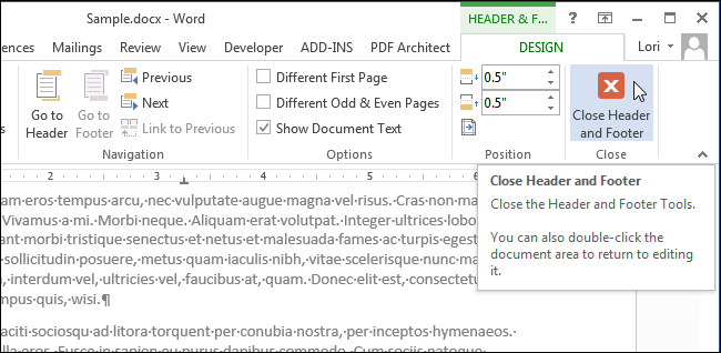 how to add new page to bottom document word
