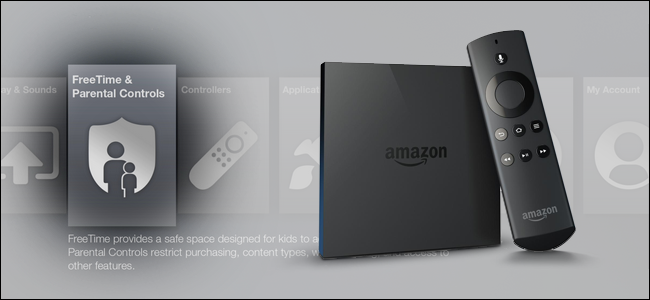 how to enable parental controls on the fire tv and fire tv. Black Bedroom Furniture Sets. Home Design Ideas