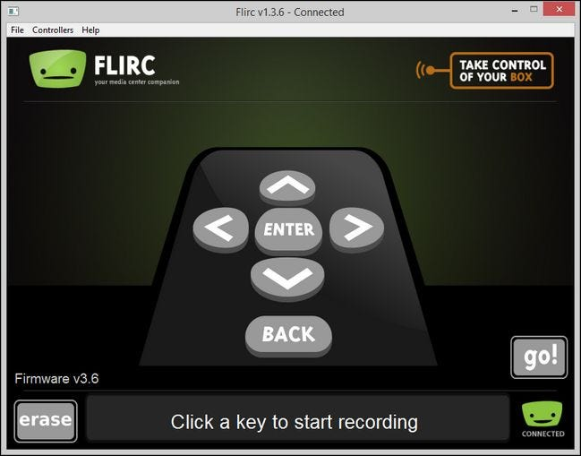 How to Use Flirc to Add Any Remote to Any Media Center