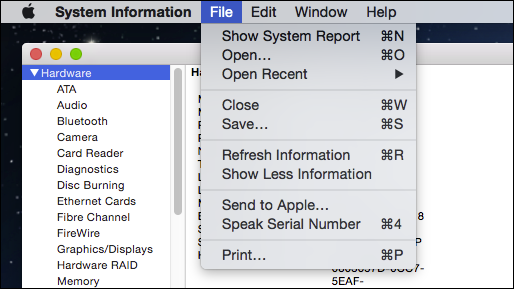 Know Exactly Whats In Your Mac With The System Information Utility