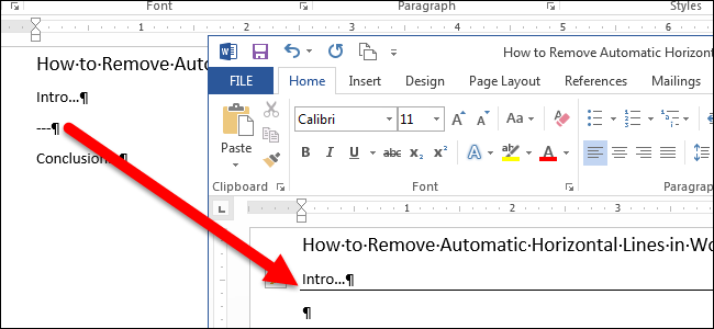 Drawing Lines In Word Mac : How to remove automatic horizontal lines in word