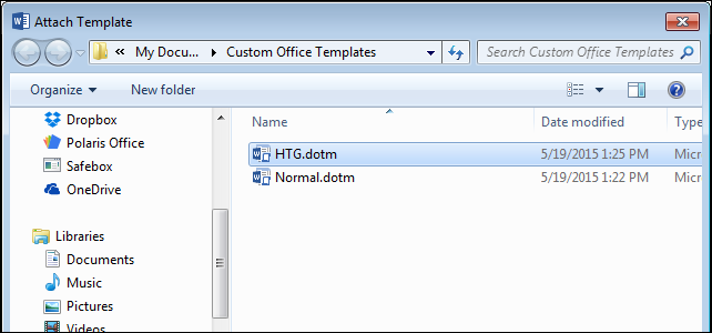 How to determine and change which template is attached to a word how to determine and change which template is attached to a word document maxwellsz