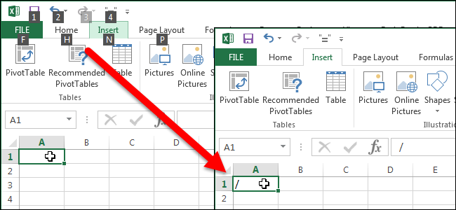 how to put two lines in an excel cell