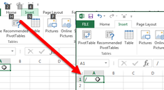 How to Enable Typing Slashes in Cells in Excel