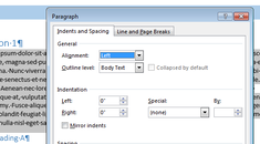 How to Set Paragraph Formatting in Word