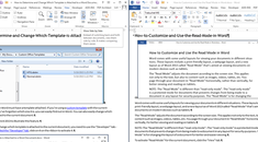 How to View Multiple Documents at Once in Word