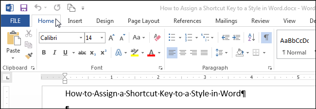 Assign keys