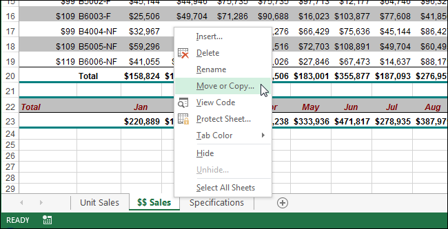How to Copy or Move a Worksheet into Another Workbook in Excel – Workbook Vs Worksheet