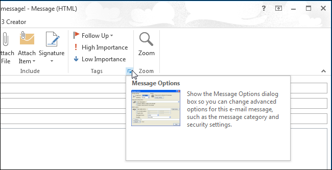 How to Set the Priority for an Email Message in Outlook