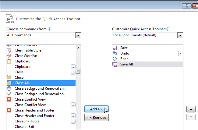 how to set all documents to open with word