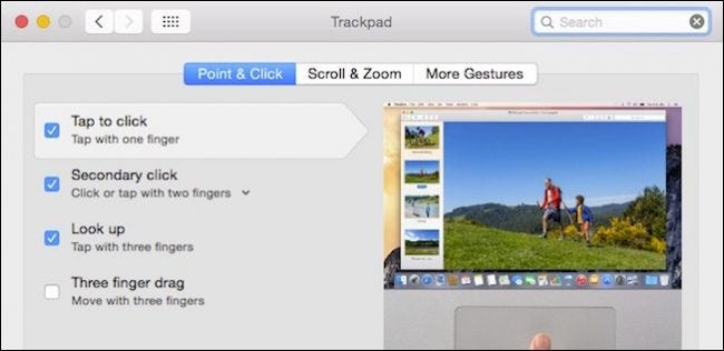 How to Right-Click with Two Fingers and Other OS X Trackpad Gestures