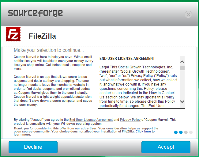 Warning: Don't Download Software From SourceForge If You Can Help It