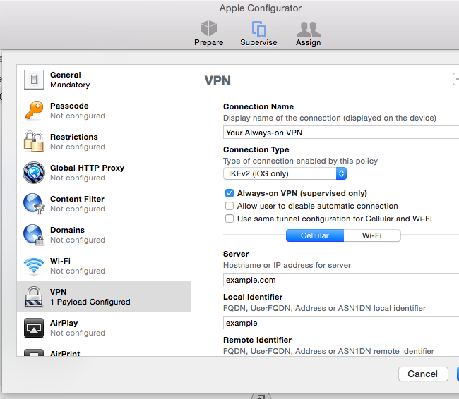 How to Enable Always-on VPN on an iPhone or iPad