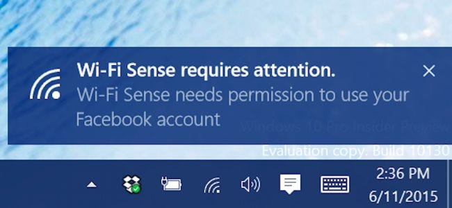 What is Wi-Fi Sense and Why Does It Want Your Facebook Account?