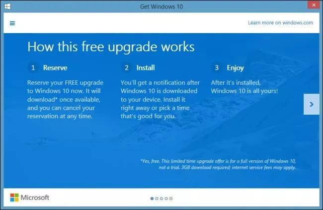 No, Windows 10 Won't Require a Subscription: Here's How Microsoft ...