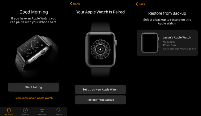 How to do a factory reset on iwatch 2