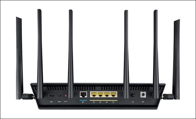 six antennas for three networks
