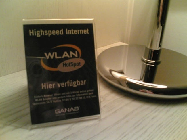 wifi hotspot hotel